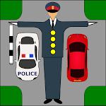 Driver Test: Traffic Guard Icon