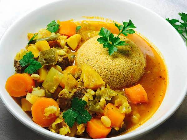 Lamb Casserole With Couscous Recipe