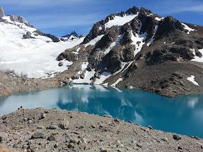 Photo: Glacier Lake below Fitz Roy at Laguna De Los Tres