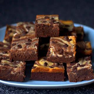 Cheesecake-Swirled Brownies.