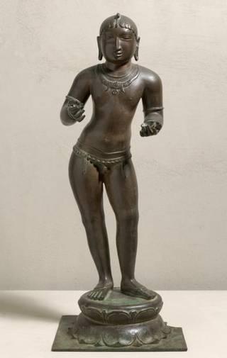 Child-saint Sambandar of 12th century belonging to Chola dynasty being returned to India.
