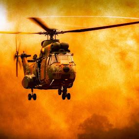 Heli by Andre Oelofse - Transportation Helicopters ( helicopter, transportation,  )