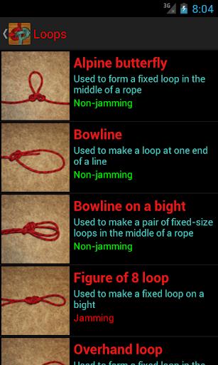 Screenshot for Useful Knots Pro in Hong Kong Play Store