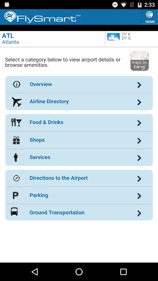 FlySmart Be an Airport Insider- screenshot