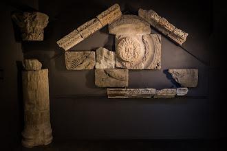 Photo: Pediment of Aquae Sulis
