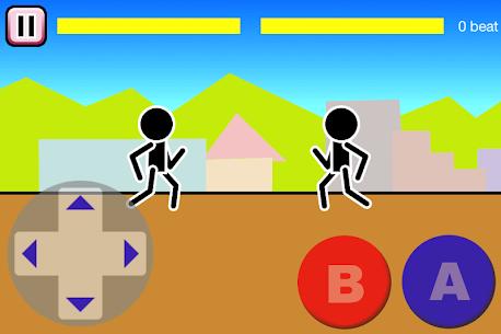 Fighting games Mokken: stick man battle 1