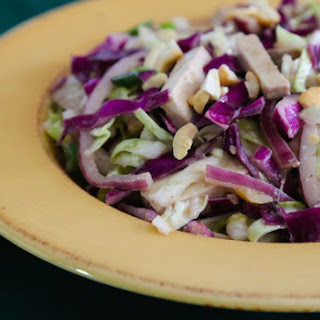 Japanese Miso Cabbage Salad