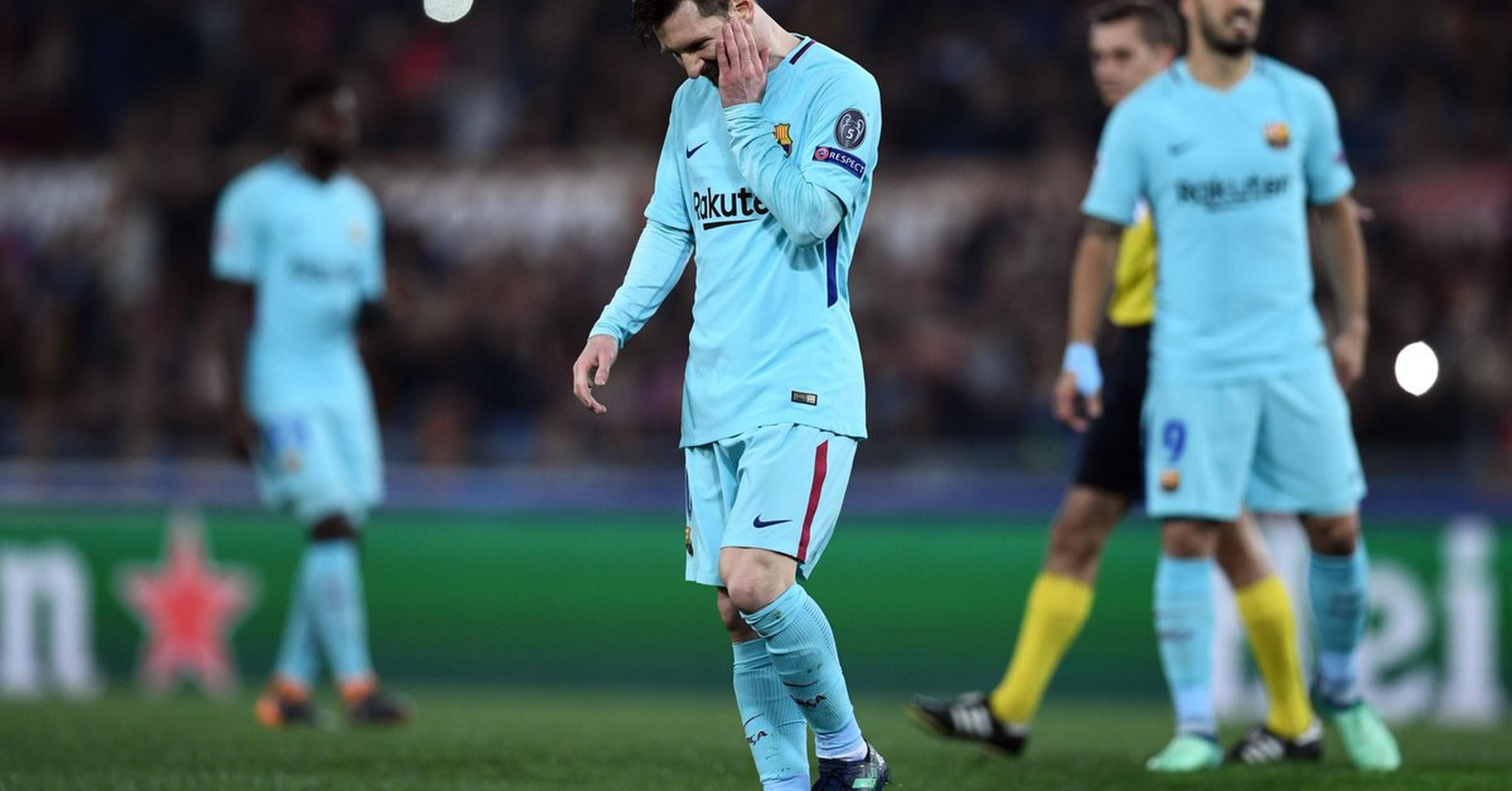La imagen de la derrota.