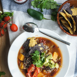 SW Butternut, Black Bean and Quinoa Soup Recipe