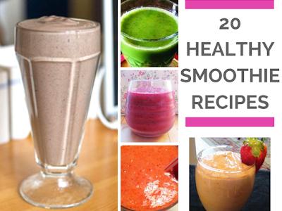20 Healthy Smoothie Recipes
