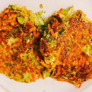 Super Cheesy Broccoli Fritters.