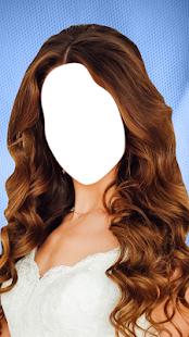 Editor svatebních vlasů - náhled