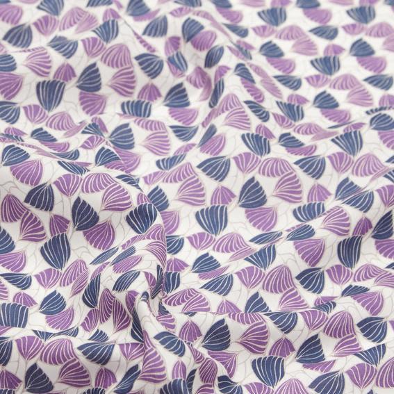 Deco Wings  Tana Lawn™ Bomull - lila/blå