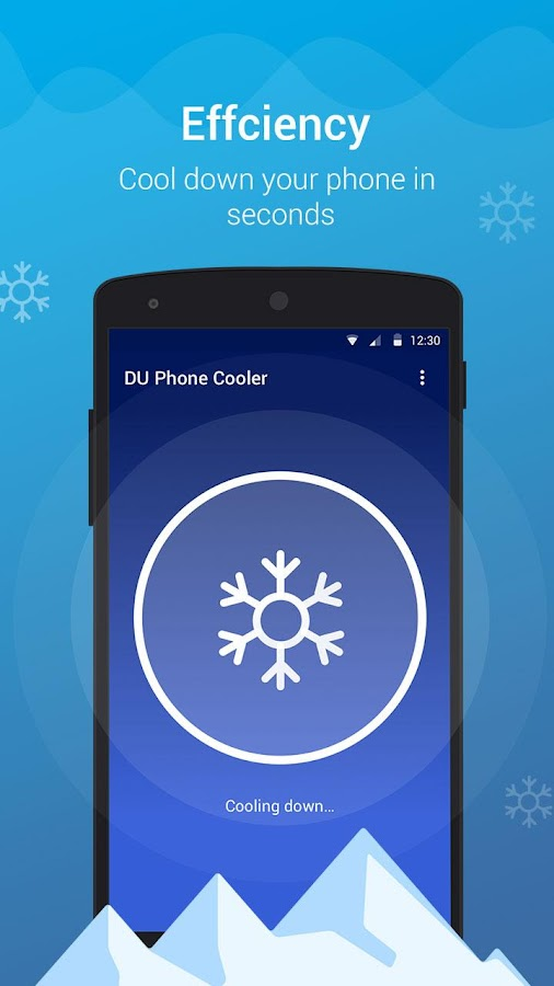 DU Phone Cooler & Cool Master- screenshot