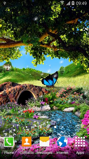 3D Butterfly Live Wallpaper 1.0.5 screenshots 2
