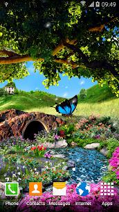 3D Butterfly Live Wallpaper 2