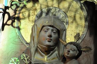 Photo: Anna selbdritt  Sie war die Mutter Marias bzw. die Großmutter von Jesus Christus.