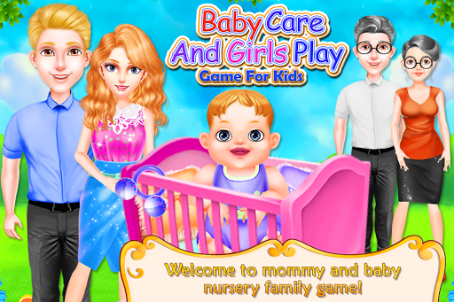 Baby Care and Girls Play Nursery Game For Kids screenshots 1