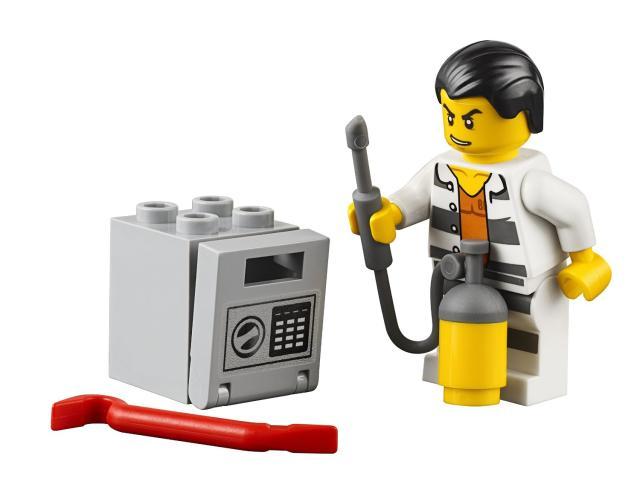 Tên cướp nhà băng trong Lego City 60128