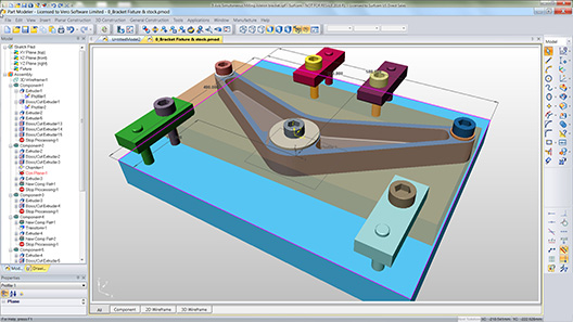 Surfcam Part Modeler