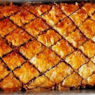 Baklava On Puff Pastry