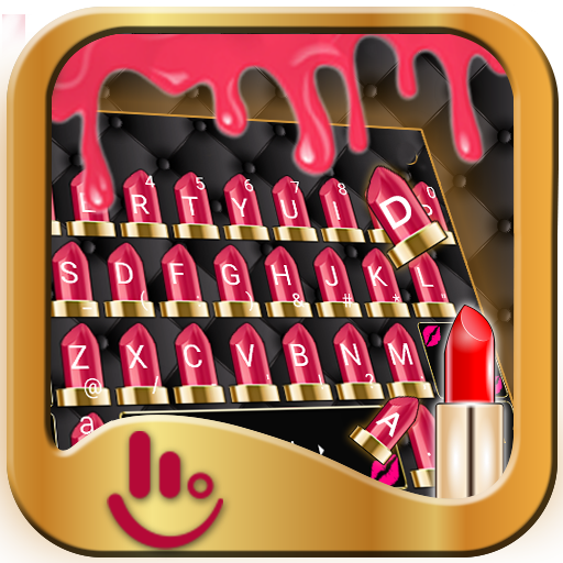 Lipstick Keyboard Theme