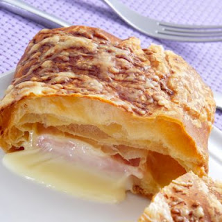 Ham and Cheese Crescent Roll