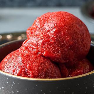 Strawberry Sorbet Recipe