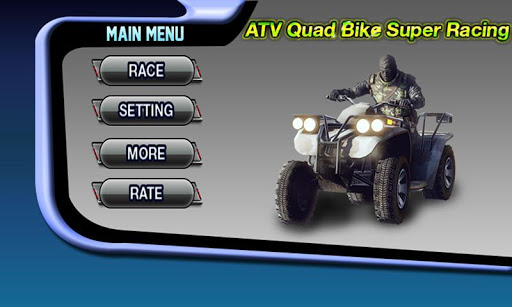 ATV Quad Bike Super Racing