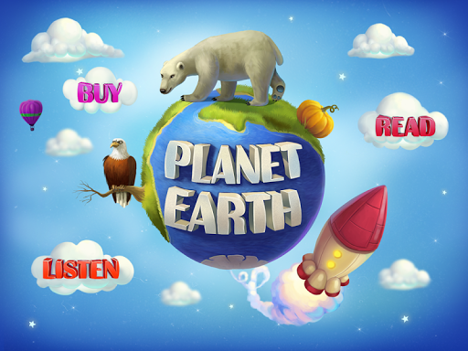 Planet Earth. Interactive book