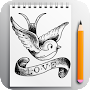 How To Draw Tattoo 2017 APK icon