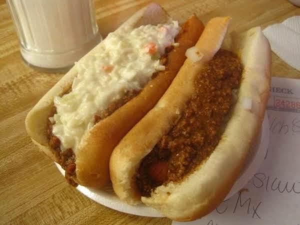 Drive Inn Hot Dog Chili Just A Pinch Recipes
