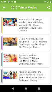Free Telugu Movies – New Release App Download For Android 2