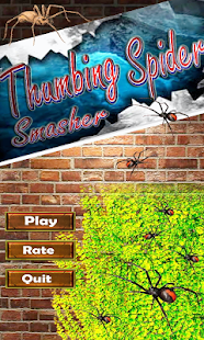 Thumbing Smasher Spider Shooter 2D Game - náhled