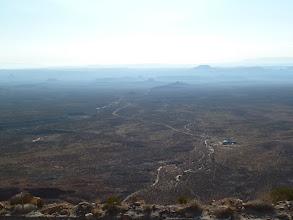 Photo: Sommet du Mokee Dugway, alt. 6425 ft = 1958 m. en bas la route 261