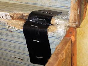 Photo: ma réparation pour l'autre arrachée.