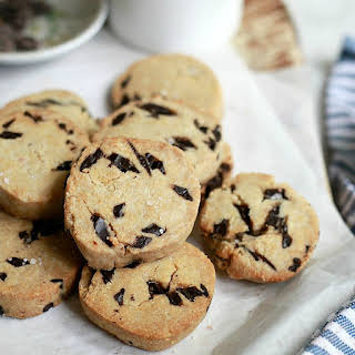 Vegan Paleo Chocolate Chip Cookies.