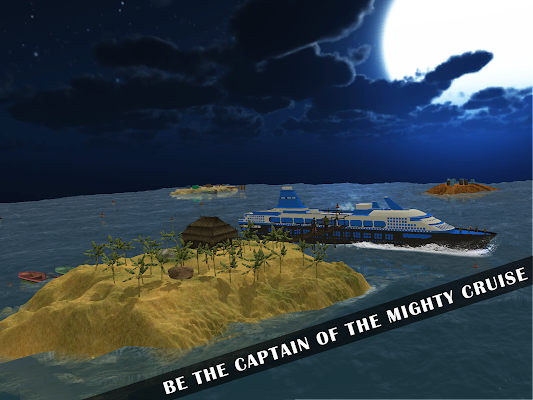 Cruise Ship Simulator 3D - screenshot
