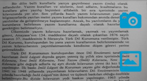 Türkçe OCR