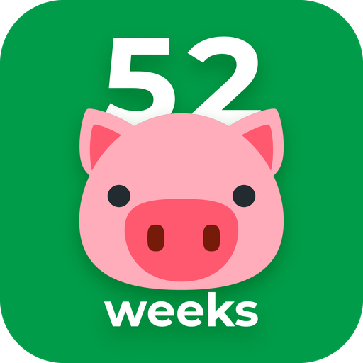 52 Weeks Money Challenge - Free Icon