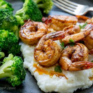 Chili Garlic Shrimp from Barefeet in the Kitchen