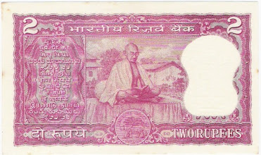 Photo: B10 Reverse Gandhi Centenary issue