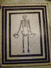 Photo: It.s5ITL130-141008Anacapri, mosaïque squelette (M_147)