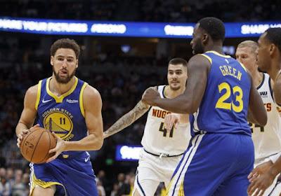 NBA: dans la douleur, les Warriors creusent l'écart