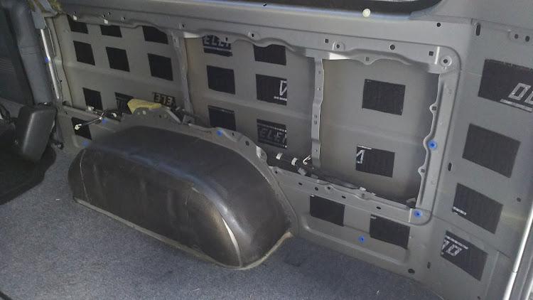 ハイエース TRH112Vのデッドニング,100系ハイエースに関するカスタム&メンテナンスの投稿画像4枚目