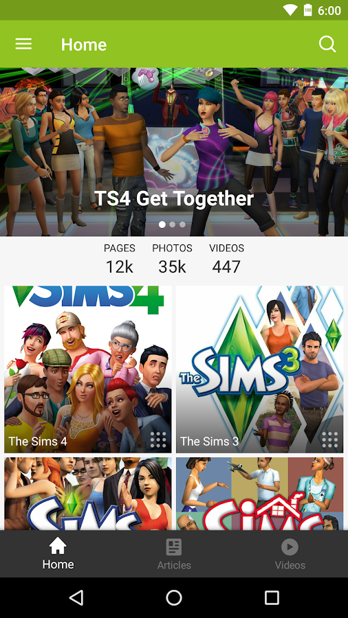 Fandom: Die Sims – Screenshot