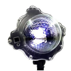 Proiector Laser Snow Flower, imita fulgii de zapada