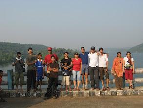 Photo: From Left : Kishore, Jaison, Novel, Ruben, Sachin Tendulkar, Sumi, Parth, Patcy, Sunil, Kiran, Sachin, Sushma