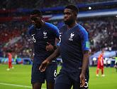 Het zal wel toeval zijn, maar toch: dit deed Samuel Umtiti tijdens de rust van Frankrijk-België en dus nauwelijks enkele minuten voor zijn doelpunt