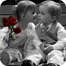 Baby Love Kiss Wallpaper file APK Free for PC, smart TV Download